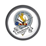 ManKintosh Clan Badge Wall Clock