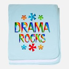 Drama baby blanket
