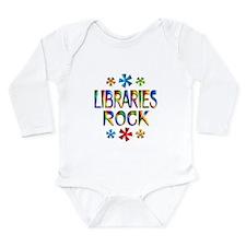 Libraries Long Sleeve Infant Bodysuit