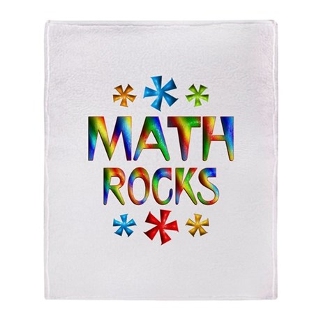 Math Throw Blanket