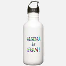Algebra Water Bottle