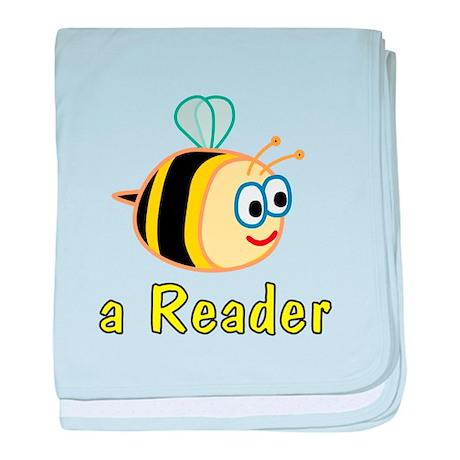 Book Reading baby blanket