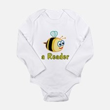 Book Reading Long Sleeve Infant Bodysuit