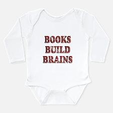 Books Long Sleeve Infant Bodysuit