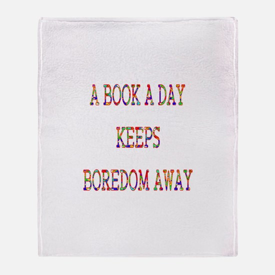 Book a Day Throw Blanket