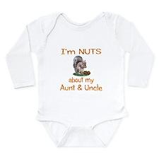 Aunt & Uncle Long Sleeve Infant Bodysuit