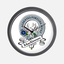 MacKinnon Clan Badge Wall Clock