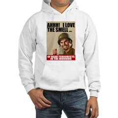Love Dead Terrorists Hooded Sweatshirt