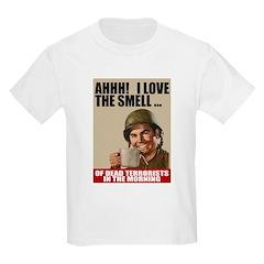 Love Dead Terrorists Kids T-Shirt