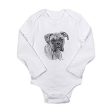 Boxer 2 Long Sleeve Infant Bodysuit