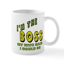 The Boss Small Mug