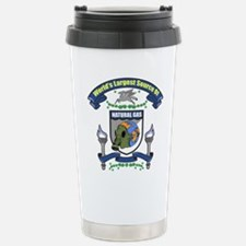 My Natural Gas Stainless Steel Travel Mug
