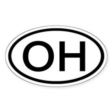 Ohio - OH - US Oval Oval Decal
