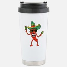 Hot Mexican Pepper Thermos Mug