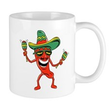 Hot Mexican Pepper Small Mug
