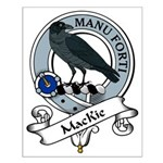 MacKie Clan Badge Small Poster