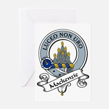 MacKenzie Clan Badges Greeting Cards (Pk of 10
