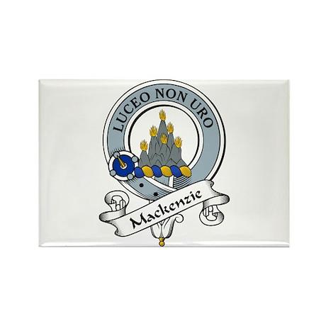 MacKenzie Clan Badges Rectangle Magnet (10 pack)