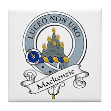 MacKenzie Clan Badges Tile Coaster