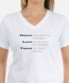 Dance, Love, Tweet Shirt