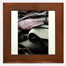 """2nd View Of A Dumpster"" Framed Tile"
