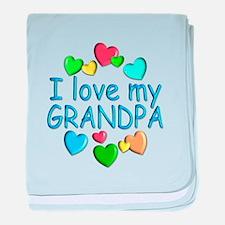Grandpa baby blanket