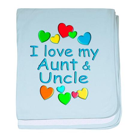 Aunt & Uncle baby blanket