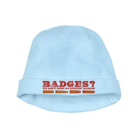 Badges Red/Yellow Bullets baby hat