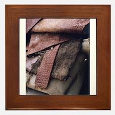 """5th View Of A Dumpster"" Framed Tile"