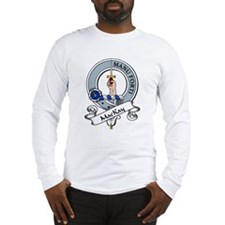 MacKay Clan Badge Long Sleeve T-Shirt