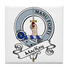 MacKay Clan Badge Tile Coaster