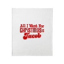 Christmas Jacob Throw Blanket