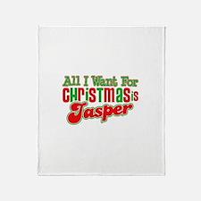 Christmas Jasper Throw Blanket