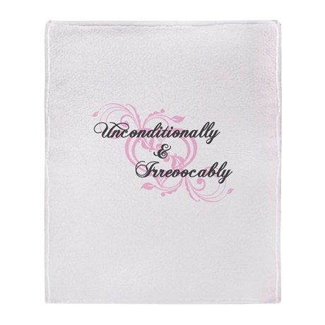 Irrevocably In Love Twilight Throw Blanket