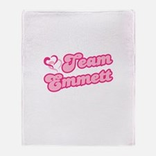 Team Emmett Throw Blanket