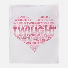 Twilight Heart Throw Blanket
