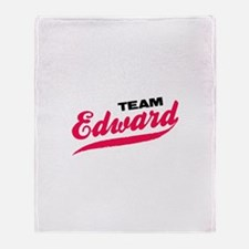Team Edward Twilight Throw Blanket