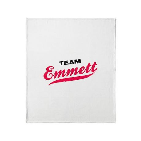 Team Emmett Twilight Throw Blanket