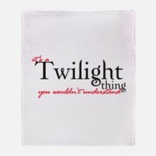 Twilight Thing Throw Blanket