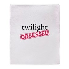 Twilight Obsessed Throw Blanket