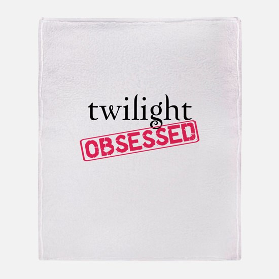 Twilight Obsessed Throw Blanket