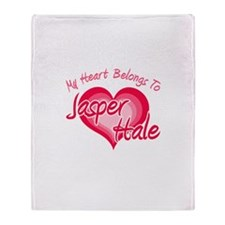 Heart Jasper Hale Throw Blanket