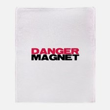 Danger Magnet Twilight Throw Blanket
