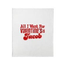 Jacob Valentine Throw Blanket