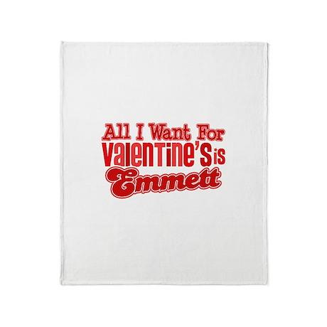 Emmett Valentine Throw Blanket