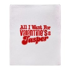 Jasper Valentine Throw Blanket