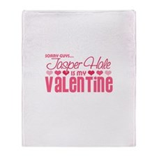 Jasper Twilight Valentine Throw Blanket