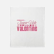 Jasper Twilight Valentine Throw Blanket