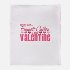 Emmett Twilight Valentine Throw Blanket