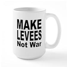 Make Levees Not War Mug
